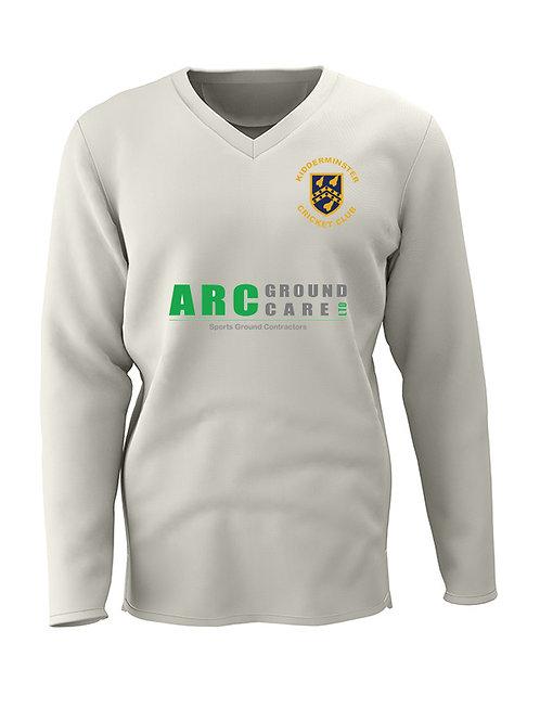 Cricket Sweater Long Sleeve (E7)   Kidderminster