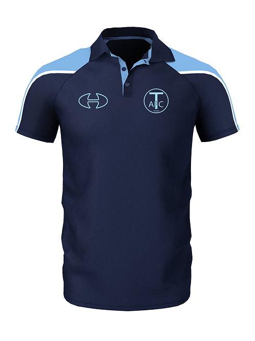 Polo Shirt (806) Navy/Sky - Trysull AFC