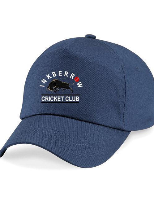 Baseball Style Cap - Navy - Inkberrow CC
