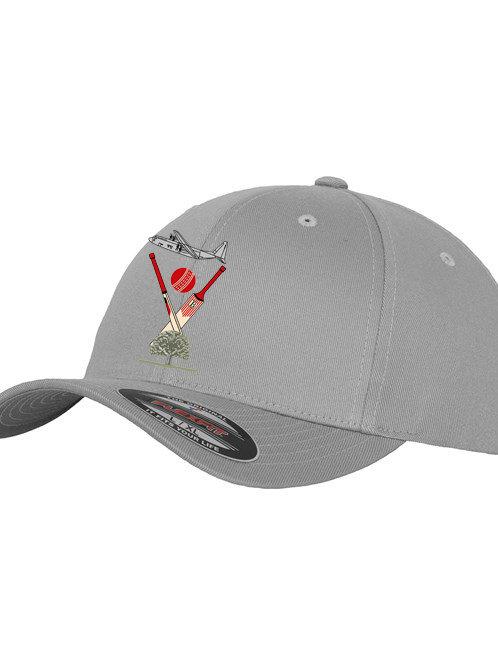 Flexi Fit Cap - Silver - Badsey CC
