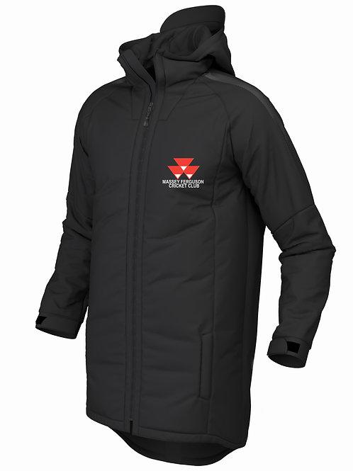 Pro 3/4 Coat (E894) Black - Massey Ferguson CC