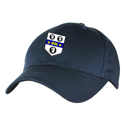 Baseball Style Cap - Navy - Old Moseley Arms CC