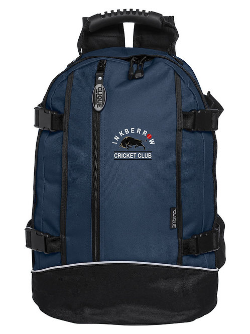 Back Pack (040207) Navy/Black - Inkberrow CC