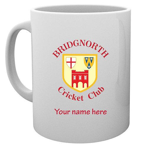 Mug (inc name) - Bridgnorth CC