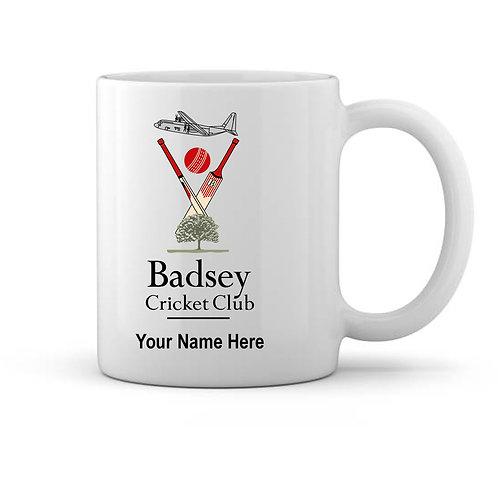 Mug (inc name) - Badsey CC