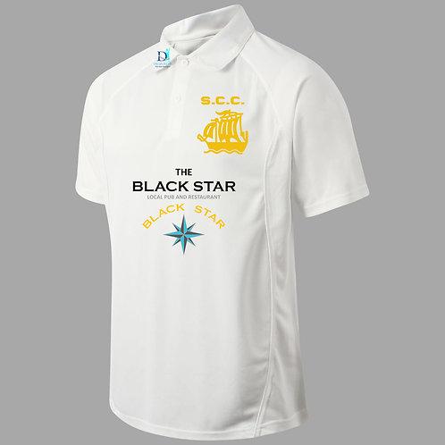 Snr Cricket Sleeve (H1) S/S - Cream - Stourport CC