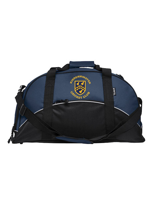 Match Day Holdall (040208) Blue/Black - Kidderminster CC