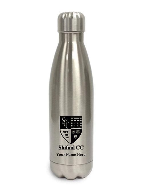 Water Bottle (inc name) Aluminum - Shifnal CC