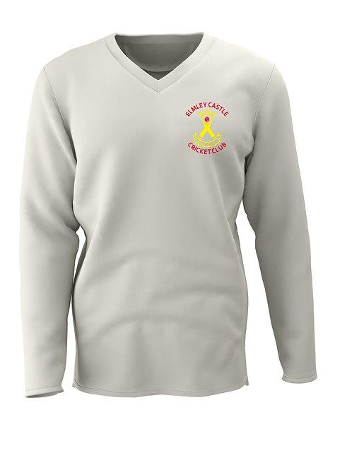 Cricket Sweater L/S (C7) Cream - Elmley Castle