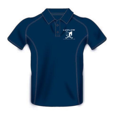 Polo Shirt H425 - Ludlow Hockey Club