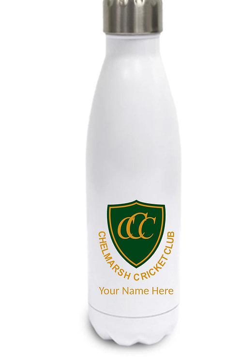 Water Bottle (inc name) - White - Chelmarsh