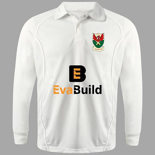Cricket Shirt Long Sleeve H2 Newtown