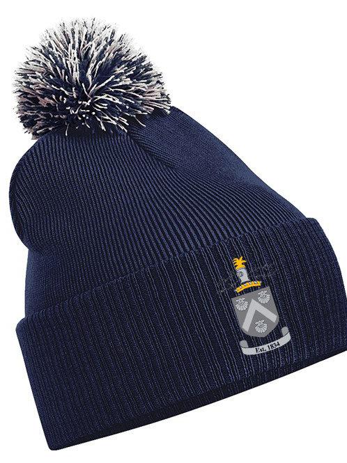 Bobble Hat (B450) Navy - Hagley