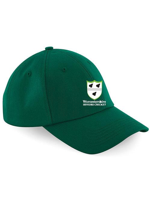 Baseball Style Cap - Green - Worcs Seniors