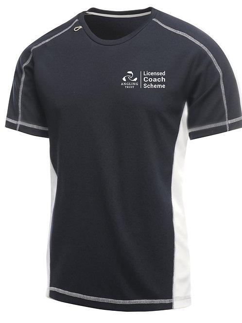 T-Shirt, Men's Navy/White