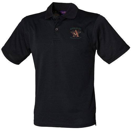 Polo Shirt (HB475) - Black - Apperley