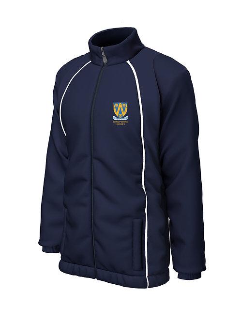 Shower Jacket (E355) Navy - Shropshire County Hockey