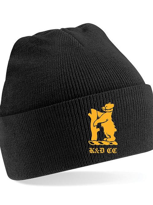 Beanie Hat (B45) Black - Knowle & Dorridge
