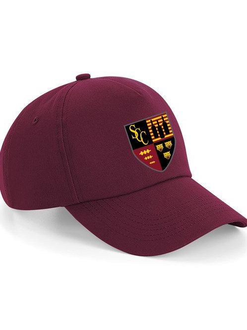 Baseball Style Cap (B15) Maroon - Shifnal