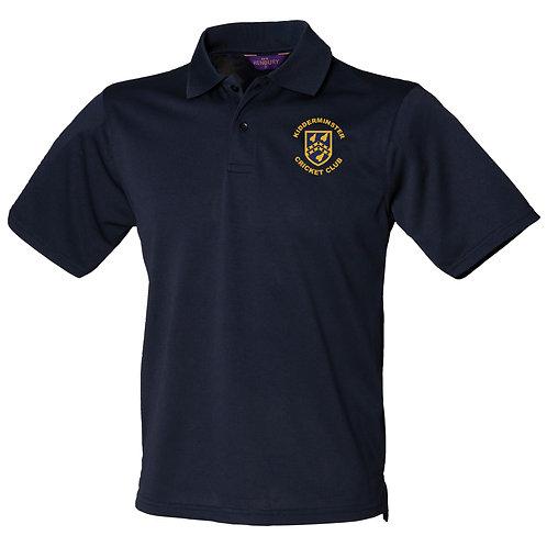 Polo Shirt (HB475) Navy - Kidderminster CC