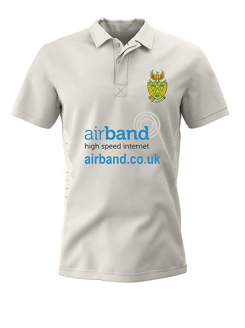 Cricket Shirt S/S Cream - Wem