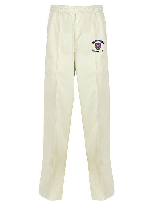 Cricket Trouser (H3) Cream - Kidderminster CC