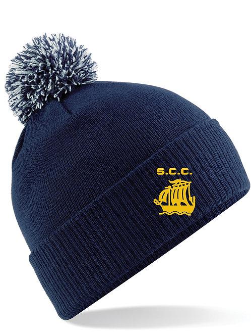 Bobble Hat (B450) - Navy - Stourport CC