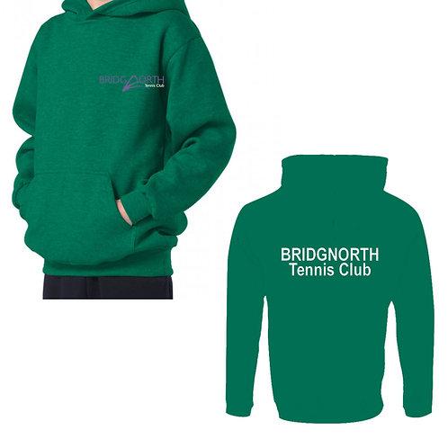 Hoodie Junior, (RK74) Kelly Green, Bridgnorth Tennis Club
