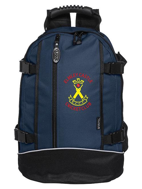 Backpack (C040207) Navy/Black - Elmley Castle