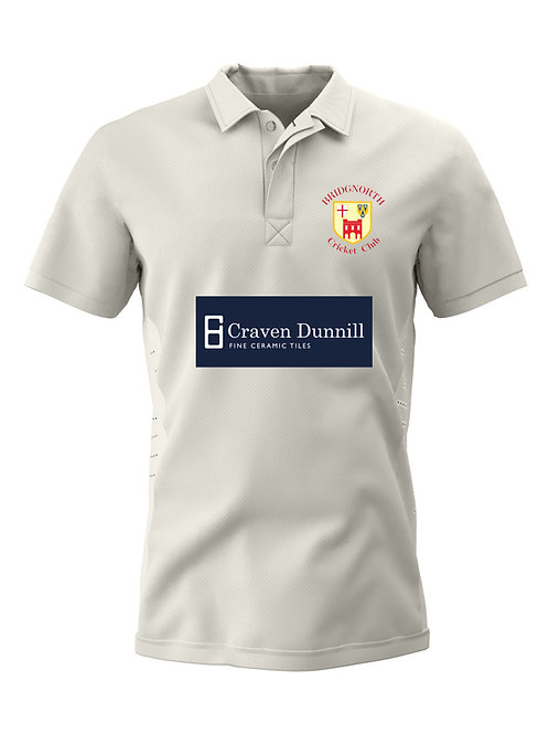 Senior Cricket Shirt Short Sleeve (H1)  Bridgnorth