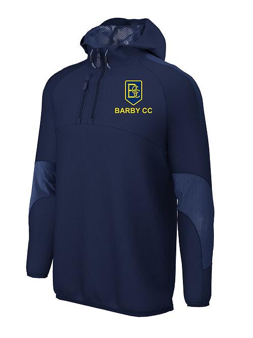 1/4 Zip Shell Jacket (E873) - Navy - Barby CC