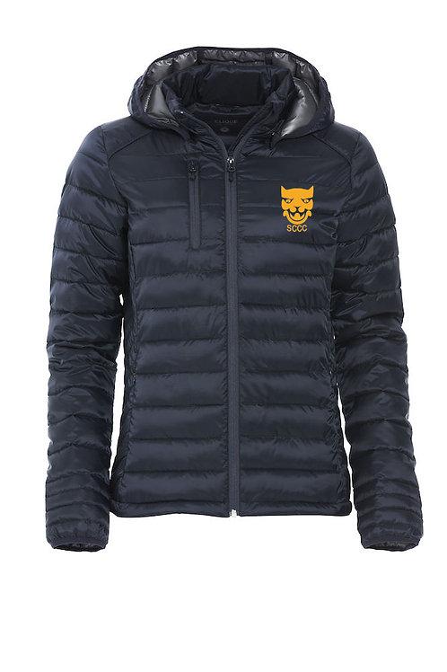 Padded Coat (020977) Ladies - Navy - Shropshire CCC Members
