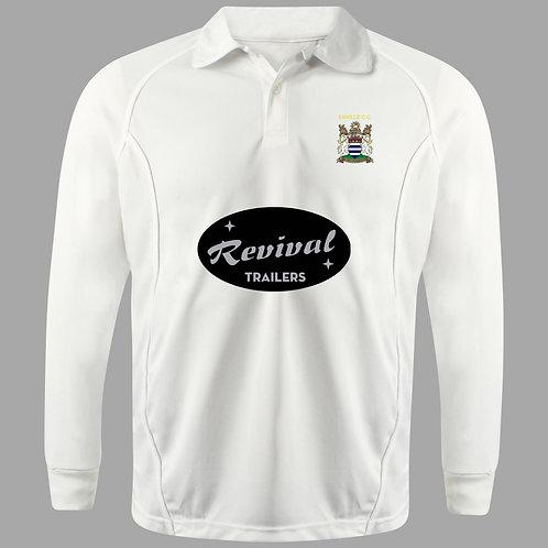 Cricket Shirt Long Sleeve H2 Enville