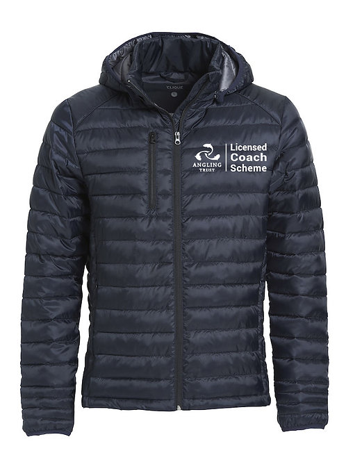Hudson Padded Jacket Navy (020976) Angling Trust