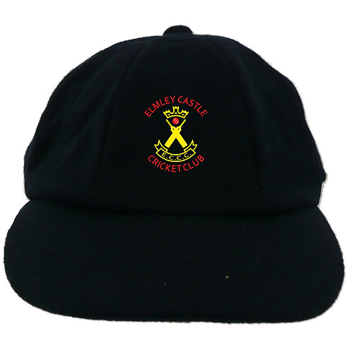 Traditional Cricket Cap - Navy - Elmley Castle
