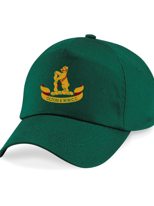 Baseball Style Cap - Green - Olton & WW CC