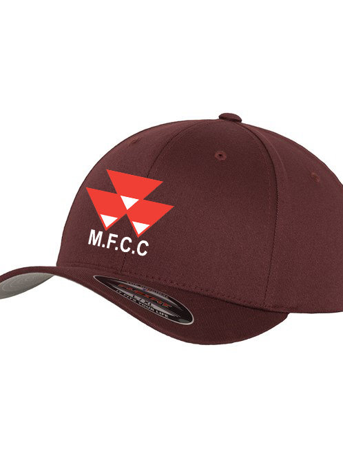 Flexi Fit Cap - Maroon - Massey Ferguson CC