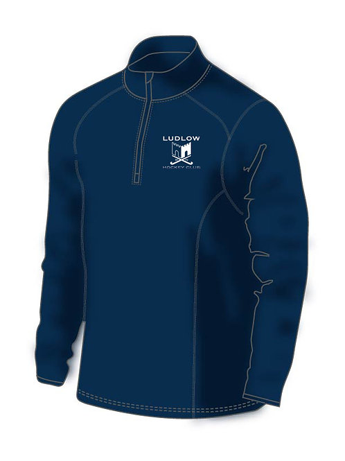 1/4 Zip Mid Layer H790-Ludlow Hockey Club