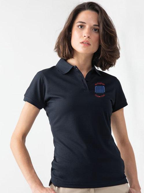 Ladies Polo Shirt (HB476) Navy - Birlingham