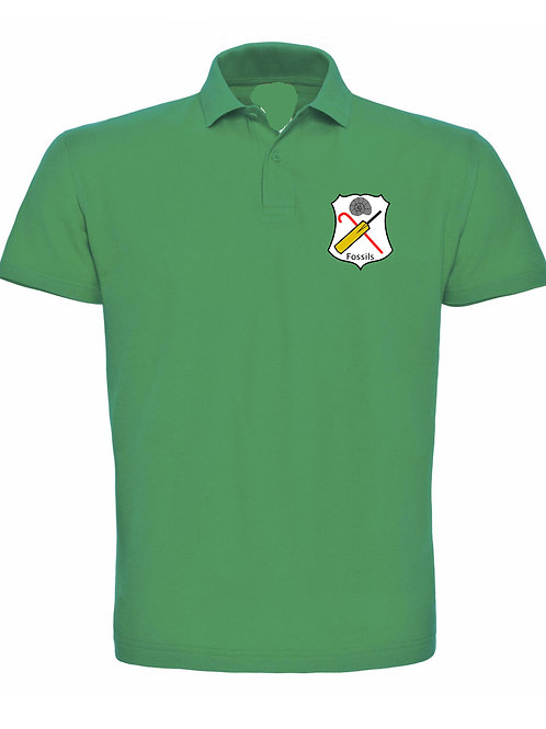 Ladies Polo Shirt, (HB476) Kelly Green - Fossils