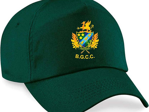 Baseball Style Cap - Green - BG