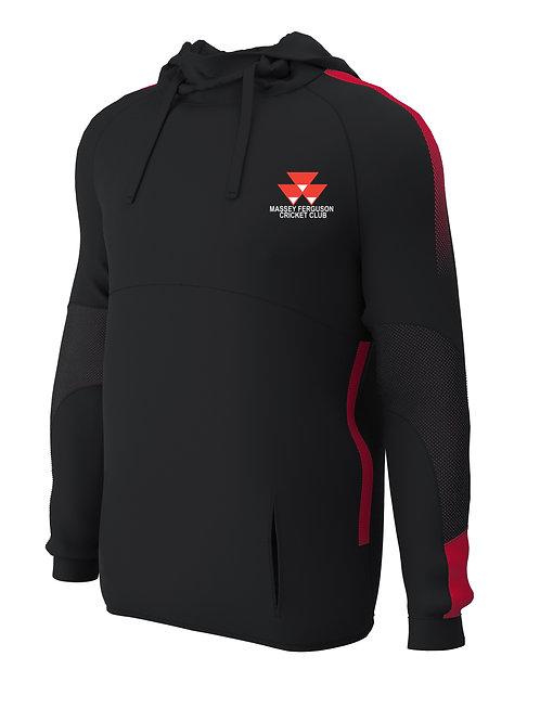 Hoodie (E874) Black/Red - Massey Ferguson CC