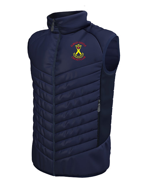 Padded Gilet (H870) Navy - Elmley Castle