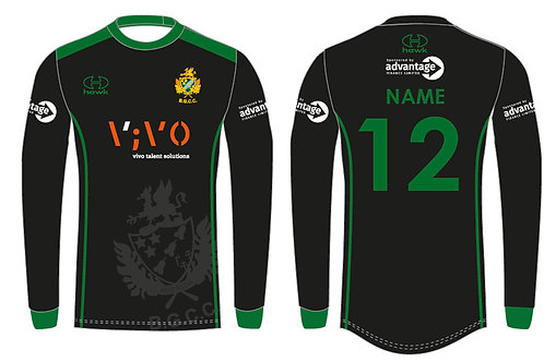 Bespoke T20 Cricket Shirt L/S - Barnt Green CC