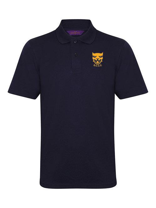 Polo Shirt (HB475) Navy - Shropshire CCC Members