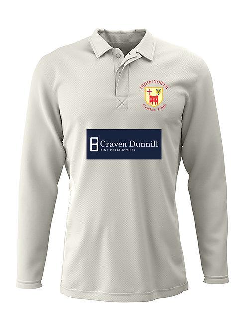 Cricket Shirt Long Sleeve (H2)  Bridgnorth