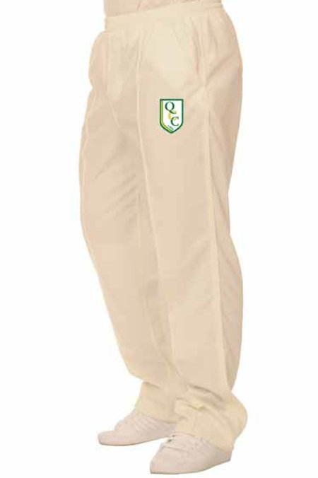 Cricket Trouser (H3) Cream -  Quatt CC