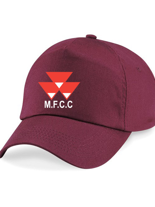 Baseball Style Cap - Maroon - Massey Ferguson CC