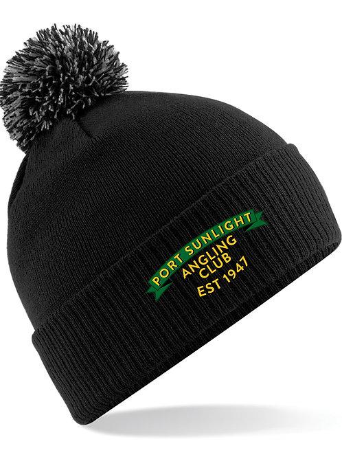 Bobble Hat (B450) Black - PSAC