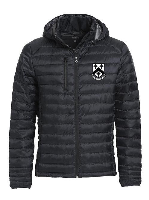 Padded Coat (Hudson) Black - Worfield